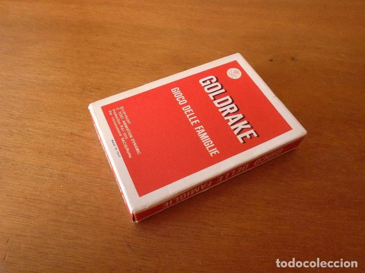 Barajas de cartas: BARAJA DE CARTAS SERIE DE DIBUJOS ANIMADOS GOLDRAKE TOEI ANIMATION 1978. GIOCO DELLE FAMIGLIE - Foto 2 - 119787807