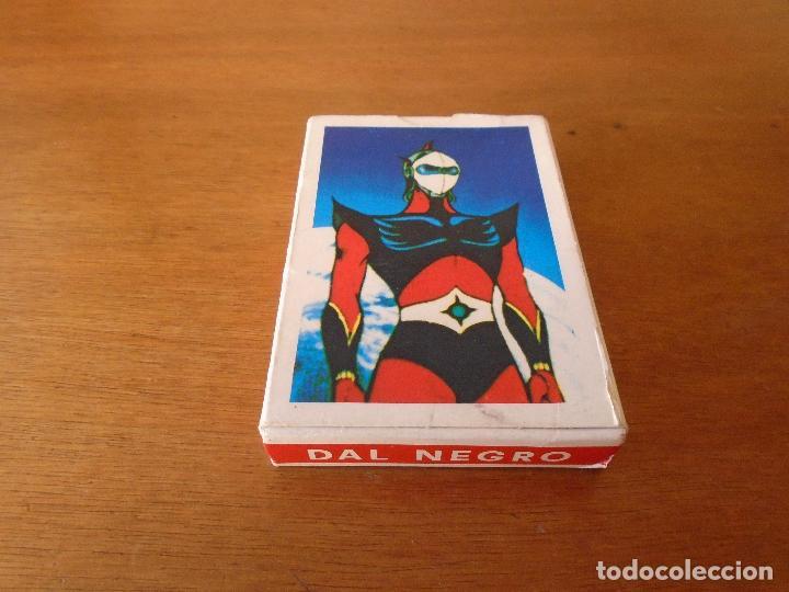 Barajas de cartas: BARAJA DE CARTAS SERIE DE DIBUJOS ANIMADOS GOLDRAKE TOEI ANIMATION 1978. GIOCO DELLE FAMIGLIE - Foto 3 - 119787807