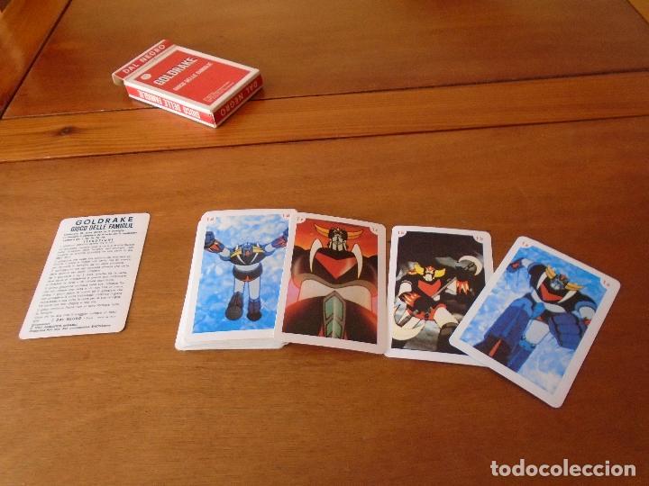 Barajas de cartas: BARAJA DE CARTAS SERIE DE DIBUJOS ANIMADOS GOLDRAKE TOEI ANIMATION 1978. GIOCO DELLE FAMIGLIE - Foto 4 - 119787807