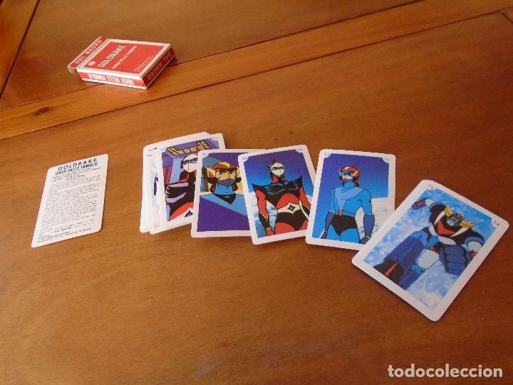 Barajas de cartas: BARAJA DE CARTAS SERIE DE DIBUJOS ANIMADOS GOLDRAKE TOEI ANIMATION 1978. GIOCO DELLE FAMIGLIE - Foto 5 - 119787807