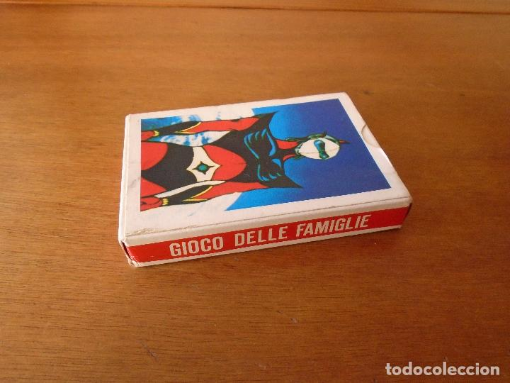 Barajas de cartas: BARAJA DE CARTAS SERIE DE DIBUJOS ANIMADOS GOLDRAKE TOEI ANIMATION 1978. GIOCO DELLE FAMIGLIE - Foto 6 - 119787807