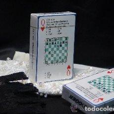 Barajas de cartas: CHESS. BARAJA DE CARTAS DE POKER DE AJEDREZ. Lote 119926819