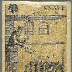 Barajas de cartas: ANTIGUA BARAJA REVOLUCION ISLAS BRITANICAS SIGLO XVII (1689) - CERTIFICADO COLECCION FOURNIER. Lote 120114191