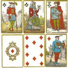 Barajas de cartas: ANTIGUA BARAJA HISTORICA PRIMERA CRUZADA - BELGICA SIGLO XIX (1875) NUEVA COLECCION FOURNIER. Lote 120114615