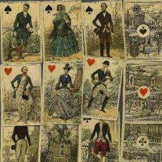 Barajas de cartas: ANTIGUA BARAJA IMPERIAL - FRANCIA SIGLO XIX (1860) NUEVA PRECINTADA - COLECCION FOURNIER. Lote 156708169