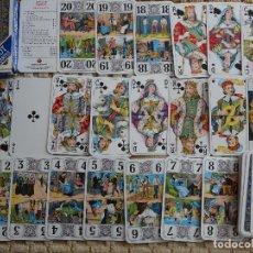 Jeux de cartes: BARAJA DE CARTAS DE TAROT FRANCESA - BELGA. CARTA MUNDI 78 NAIPES. 180 GR. Lote 120223695