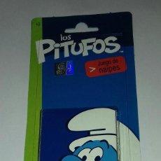 Barajas de cartas: BARAJA DE CARTAS LOS PITUFOS AÑO.2013. Lote 120364719