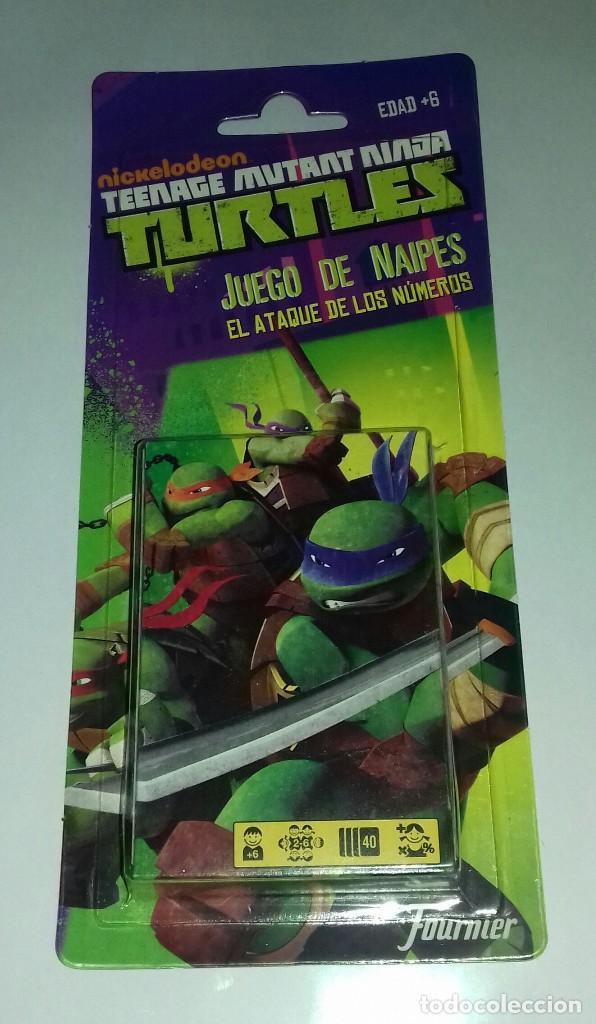 BARAJA DE CARTAS TORTUGAS NINJA - AÑO.2013 (Juguetes y Juegos - Cartas y Naipes - Barajas Infantiles)