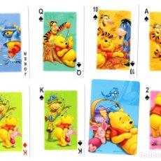 Jeux de cartes: BARAJA INFANTIL WINNIE THE POOH. POKER. COMPLETA. 54 CARTAS. EN CAJA DE PLASTICO. Lote 120401227