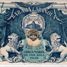 Barajas de cartas: BARAJA ESPAÑOLA Nº 111 GIGANTE. FOURNIER. OPACA. MARFIL DE UNA SOLA HOJA. COMPLETA. 40 CARTAS. Lote 120403479