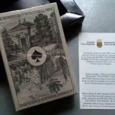 Barajas de cartas: JUEGO DE CARTAS BARAJA REPRODUCCIÓN BARAJA IMPERIAL FRANCIA SIGLO XIX. Lote 120543186