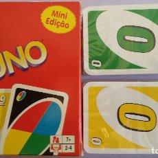 Barajas de cartas: BARAJA CARTAS. UNO (MINI). MATTEL.. Lote 172338595