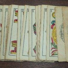 Barajas de cartas: BARAJA DE CARTA ESPAÑOLA. EL HERALDO. MARCA DE OLEA. CADIZ. SIN APENAS USO. 1907.. Lote 120631979