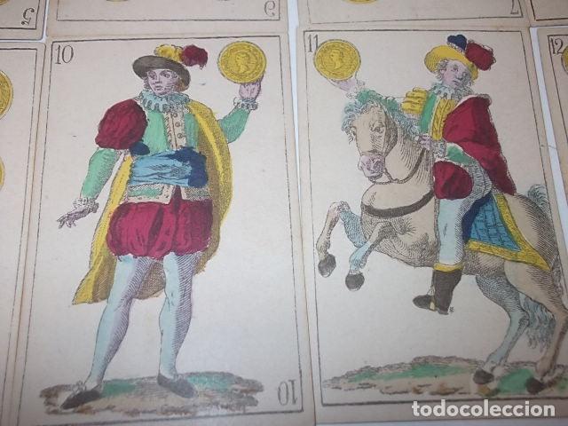 Barajas de cartas: RARA DE VER ANTIGUA BARAJA MACIA DE 1865 NO JUGADA,VER DESCRIPCION - Foto 8 - 120743123