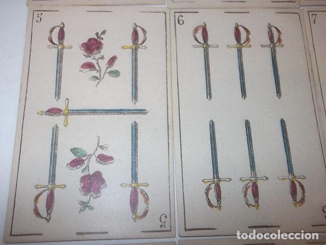 Barajas de cartas: RARA DE VER ANTIGUA BARAJA MACIA DE 1865 NO JUGADA,VER DESCRIPCION - Foto 12 - 120743123