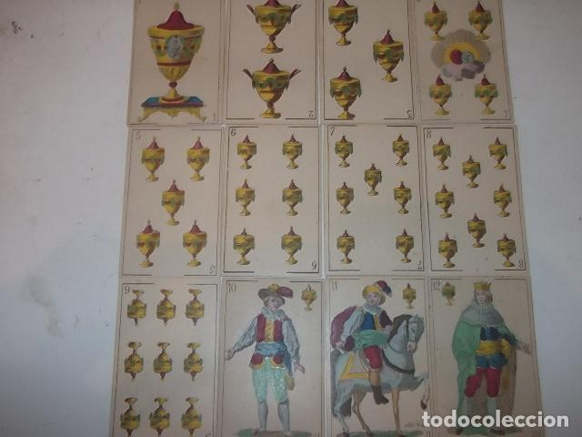 Barajas de cartas: RARA DE VER ANTIGUA BARAJA MACIA DE 1865 NO JUGADA,VER DESCRIPCION - Foto 16 - 120743123