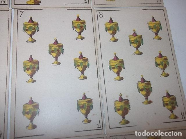 Barajas de cartas: RARA DE VER ANTIGUA BARAJA MACIA DE 1865 NO JUGADA,VER DESCRIPCION - Foto 20 - 120743123