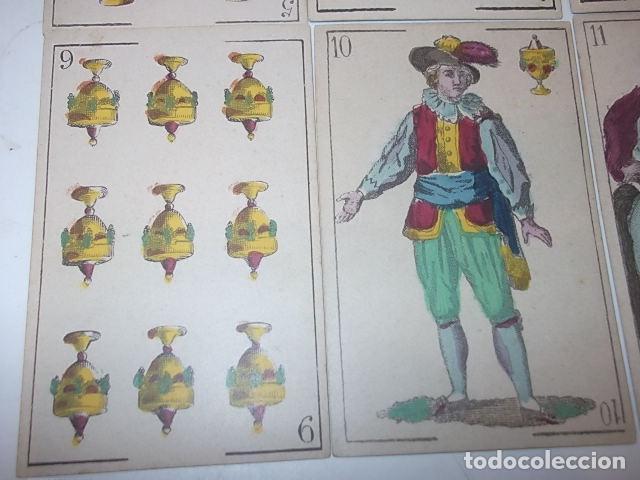 Barajas de cartas: RARA DE VER ANTIGUA BARAJA MACIA DE 1865 NO JUGADA,VER DESCRIPCION - Foto 21 - 120743123