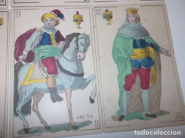 Barajas de cartas: RARA DE VER ANTIGUA BARAJA MACIA DE 1865 NO JUGADA,VER DESCRIPCION - Foto 22 - 120743123