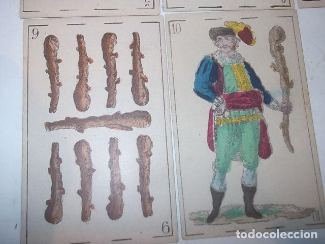 Barajas de cartas: RARA DE VER ANTIGUA BARAJA MACIA DE 1865 NO JUGADA,VER DESCRIPCION - Foto 28 - 120743123