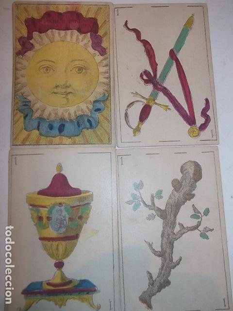 RARA DE VER ANTIGUA BARAJA MACIA DE 1865 NO JUGADA,VER DESCRIPCION (Juguetes y Juegos - Cartas y Naipes - Baraja Española)