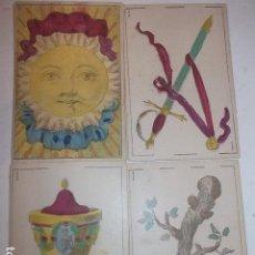 Barajas de cartas: RARA DE VER ANTIGUA BARAJA MACIA DE 1865 NO JUGADA,VER DESCRIPCION. Lote 120743123