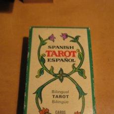 Barajas de cartas: BARAJA CARTAS TAROT BILINGUE FOURNIER COMPLETO CON INSTRUCCIONES ESPAÑOL INGLES. Lote 120841999