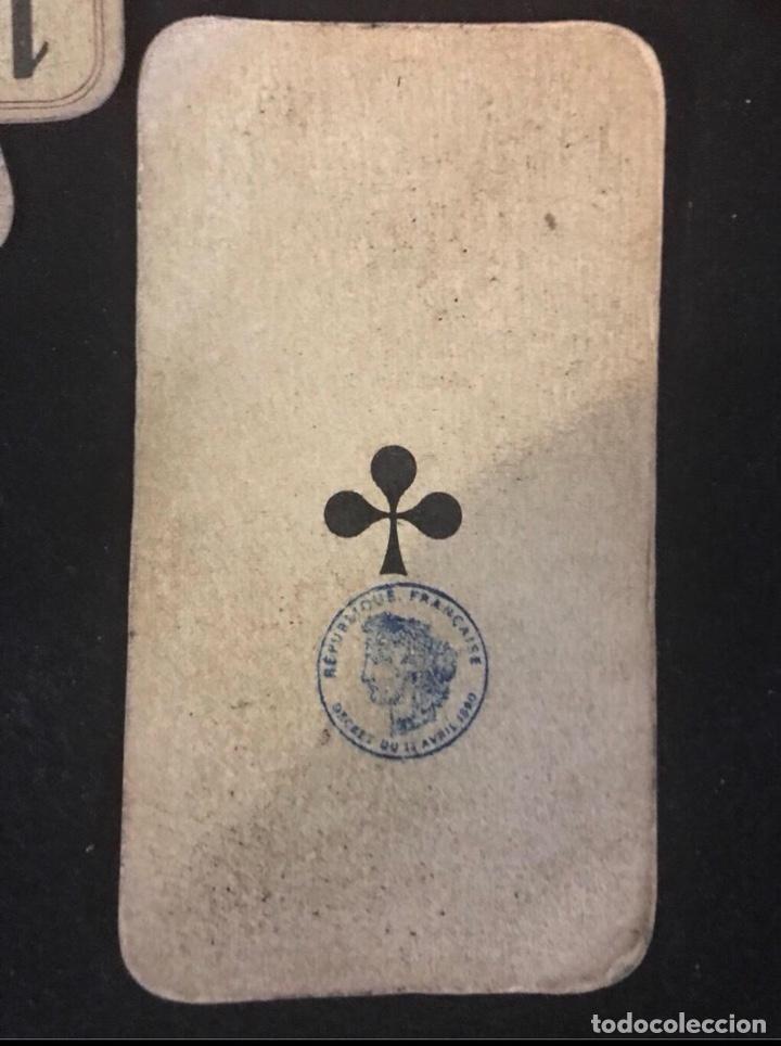 Barajas de cartas: Baraja Tarot año 1840 Tarot Completa Republica Francesa - Foto 3 - 120912431