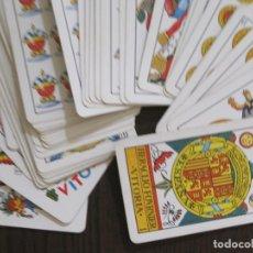 Barajas de cartas: BARAJA CARTAS FOURNIER ESPAÑA AÑO 1970 - NUM 25 - COMPLETA -2 COMODINES -VER FOTOS(V-14.452). Lote 120937243