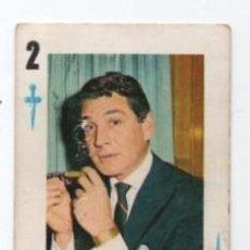 Barajas de cartas: (ALB-TC-26) CARTA NAIPE ARTISTAS CANTANTES GENE BARRY. Lote 120983195