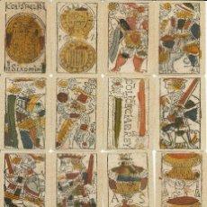 Barajas de cartas: ANTIGUA BARAJA SEVILLANA - ESPAÑA SIGLO XVII (1647) - CERTIFICADO COLECCION FOURNIER. Lote 131881785
