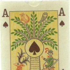 Barajas de cartas: BARAJA FOLKLORICA - HUNGRIA SIGLO XX (1965) - PRECINTADA - CERTIFICADO COLECCION FOURNIER. Lote 120998363