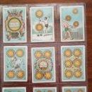 Barajas de cartas: BARAJA PAPEL DE FUMAR ALQUITRAN NORUEGO - FALTAN 5 - REVERSO EN PORTUGUES JOSE BARDOU & FILHOS. Lote 121002899