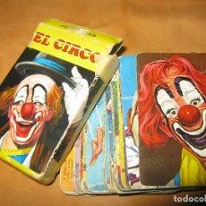 Barajas de cartas: BARAJA EL CIRCO HERACLIO FOURNIER 44 CARTAS AÑOS 70. Lote 121010695