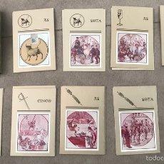 Barajas de cartas: BARAJA TOROS TAURINA HELIODORO LA DORADA COMPLETA. Lote 121016611