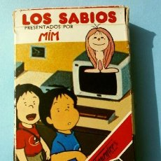 Barajas de cartas: LOS SABIOS - BARAJA INFANTIL - NAIPES FOURNIER - JUEGO DE CARTAS (AÑO 1983) PRESENTADOS POR MIM. Lote 121076459