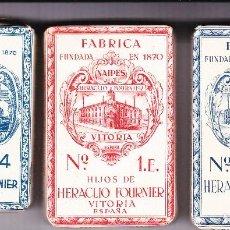Barajas de cartas: BARAJA ESPAÑOLA ANTIGUA SIN DESPRECINTAR 3. Lote 121109755
