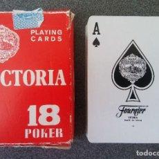 Barajas de cartas: BARAJA POKER VICTORIA . Lote 121136771