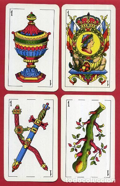 Barajas de cartas: BARAJA COMAS , 50 NAIPES Nº 40 , TIMBRE 1,50 PTAS , COMPLETA , PERFECTA , ORIGINAL , B1 - Foto 3 - 121349675
