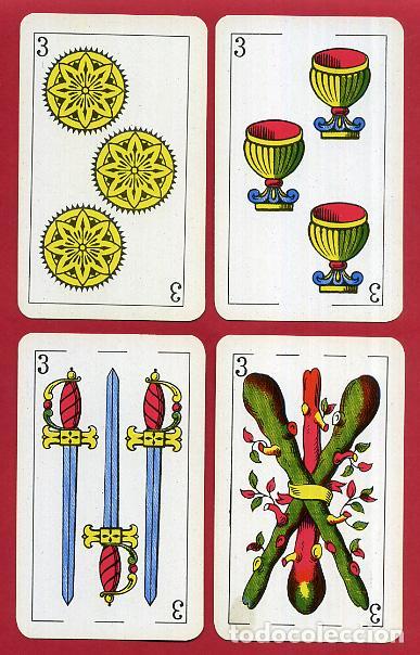 Barajas de cartas: BARAJA COMAS , 50 NAIPES Nº 40 , TIMBRE 1,50 PTAS , COMPLETA , PERFECTA , ORIGINAL , B1 - Foto 5 - 121349675