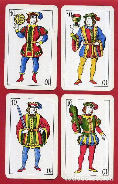 Barajas de cartas: BARAJA COMAS , 50 NAIPES Nº 40 , TIMBRE 1,50 PTAS , COMPLETA , PERFECTA , ORIGINAL , B1 - Foto 12 - 121349675