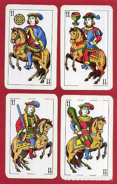 Barajas de cartas: BARAJA COMAS , 50 NAIPES Nº 40 , TIMBRE 1,50 PTAS , COMPLETA , PERFECTA , ORIGINAL , B1 - Foto 13 - 121349675