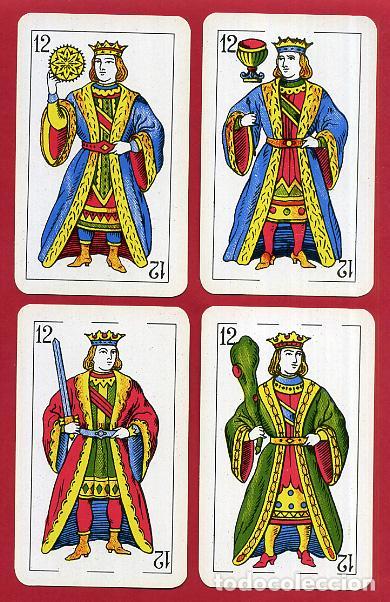 Barajas de cartas: BARAJA COMAS , 50 NAIPES Nº 40 , TIMBRE 1,50 PTAS , COMPLETA , PERFECTA , ORIGINAL , B1 - Foto 14 - 121349675