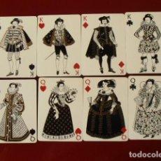 Barajas de cartas: LOEWE MODA EUROPEA SIGLO XVII (DOS BARAJAS). Lote 121383735
