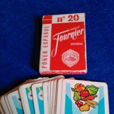 Barajas de cartas: BARAJA CON PUBLICIDAD DE BAYER PRODUCTOS FITOSANITARIOS. Lote 121436135