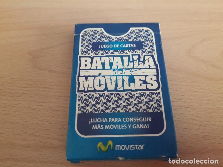 05-00053 BARAJA BATALLA MOVILES (Juguetes y Juegos - Cartas y Naipes - Otras Barajas)