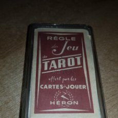 Barajas de cartas: BARAJA TAROT HERON (COMPLETA). Lote 121466807