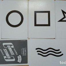 Barajas de cartas: CARTAS ZENNER - CAPACIDAD EXTRASENSORIAL. Lote 151477513
