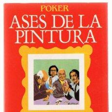 Barajas de cartas: BARAJA ASES DE LA PINTURA . Lote 121497723