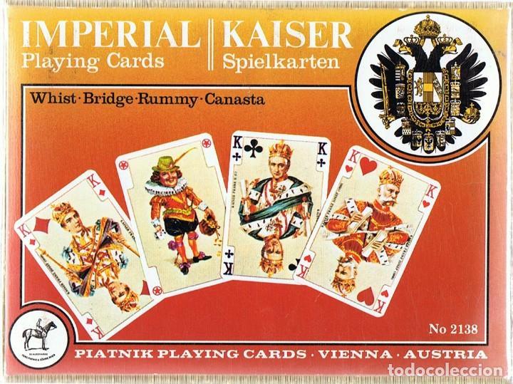 PLAYING CARDS IMPERIAL KAISER (PRECINTADO) (Juguetes y Juegos - Cartas y Naipes - Barajas de Póker)